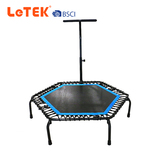 Indoor Fitness Exercise Hexagon Portable Trampoline with Handle