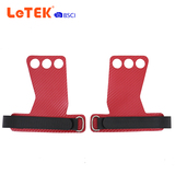 2 Fingers Gymnastics Weightlifting Leather Grips