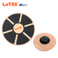 Fitness Exercise Wooden Round Balance Board