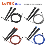 Plastic Handle Jump Rope With Round Bottom Cover