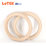 Gym Exercise Body Building Wood Gymnastic Ring